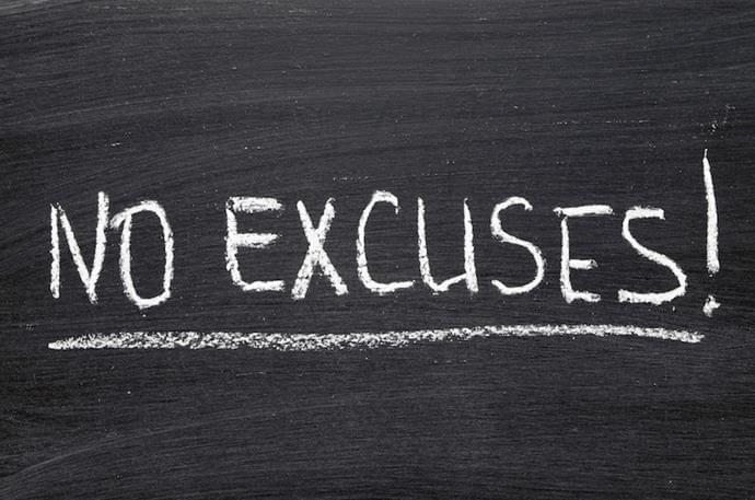 Fitness Tip of the Month: Cut the Excuses