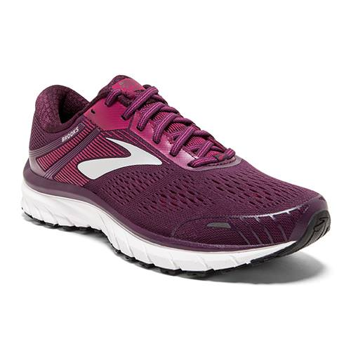 Brooks Adrenaline GTS 18 Women's Running Purple, Pink, Silver 1202681B516