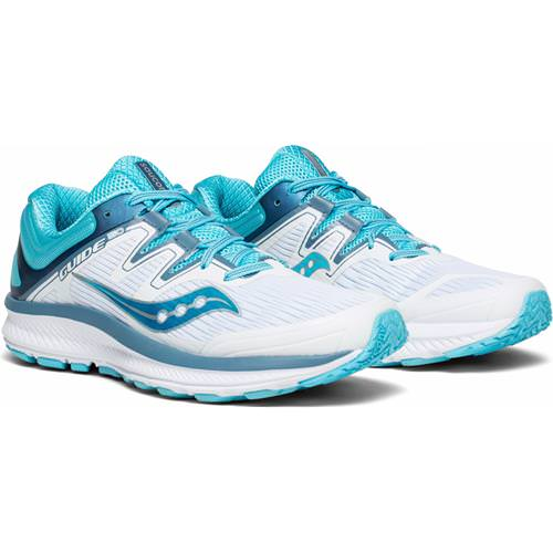 Saucony Guide ISO Women's Running Shoe White, Blue S10415-4