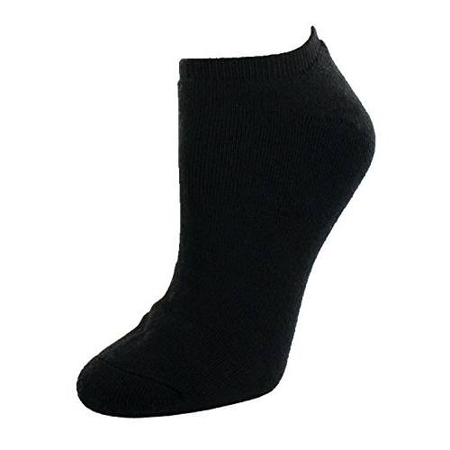Sof Sole® Women's Black size 5 to 10 All Sport No Show Sock 6-Pack 89263