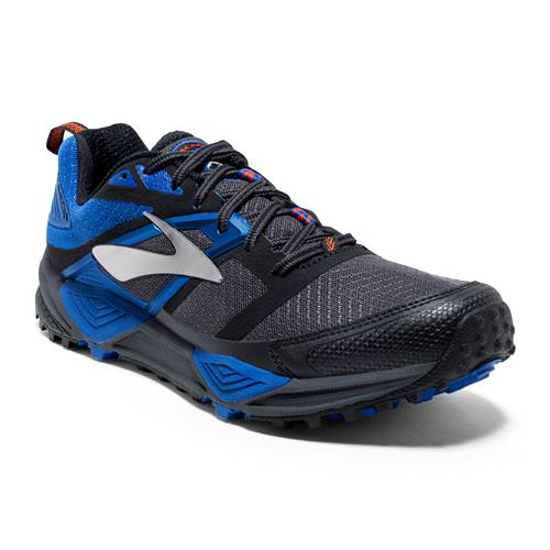 Brooks Cascadia 12 Men's Running Anthracite, Electric Blue, Black 1102431D098