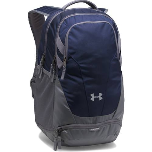 Under Armour Hustle 3.0 Backpack Midnight Navy, Graphite 1306060-410