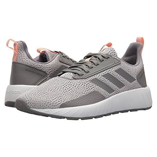 Adidas Questar Drive Women's Running Shoe Grey 2, Grey 3, Hi-Red Orange DB1693