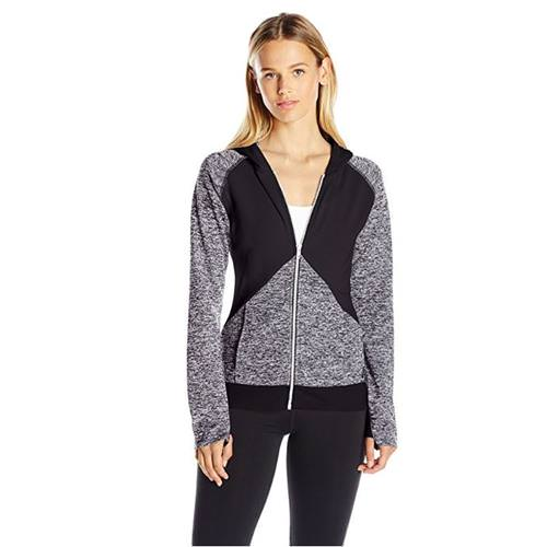 Asics Morgan Full-Zip Womens Graphite, Black BV2697.9690