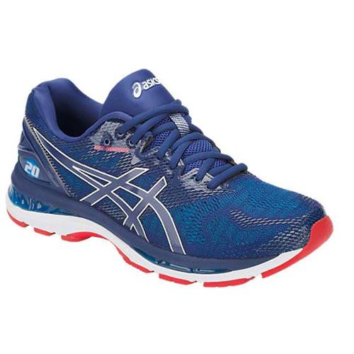 Asics Gel Nimbus 20 Men's Running Shoe Blue Print, Race Blue T800N 400