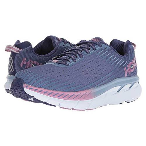 Hoka One One Clifton 5 Women's Marlin, Blue Ribbon 1093756 MBRB