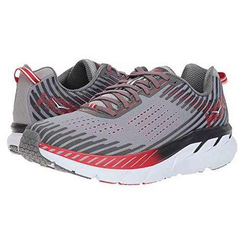 Hoka One One Clifton 5 Men's Wide EE Alloy, Steel Gray 1093757 ASGY