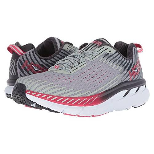 Hoka One One Clifton 5 Women's Wide D Alloy, Metal 1093758 AMTL