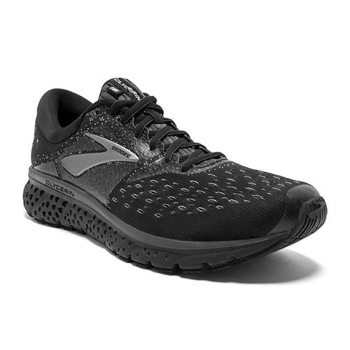 Brooks Glycerin 16 Men's WIDE EE Running Black, Ebony 1102892E071