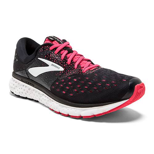 Brooks Glycerin 16 Women's WIDE D Running Black, Pink, Grey 1202781D070