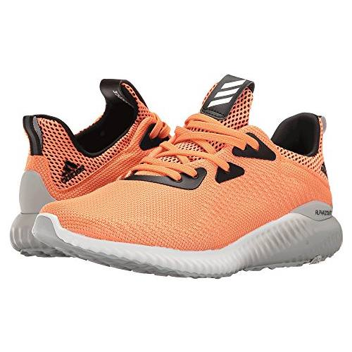Adidas Alphabounce Women's Running Shoe Easy Orange, White, Clear Onix B39431