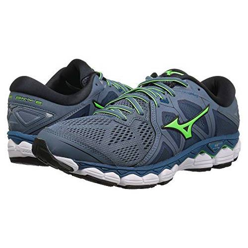Mizuno Wave Sky 2 Men's Running Blue Mirage, Evening Blue 410995.BM5V
