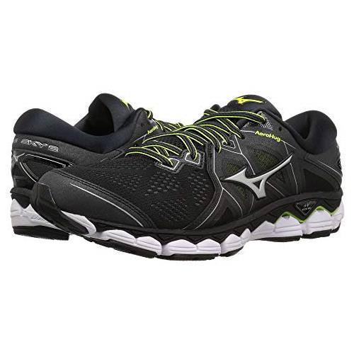 Mizuno Wave Sky 2 Men's Running Black, Safety Yellow 410995.903E