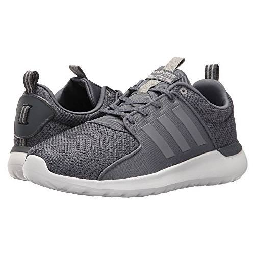 Adidas Cloudfoam Lite Racer Mens Running Shoes in Onix, Clear Onix AW4027