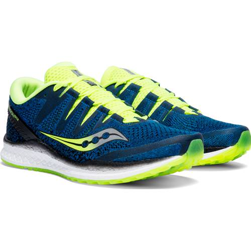 Saucony Freedom ISO 2 Men's Running Black S20440-1 Saucony Freedom ISO 2 Men's Running Blue, Citron S20440-3