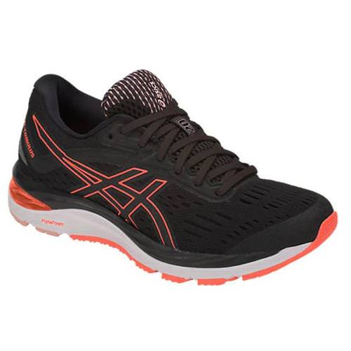 Asics GEL-Cumulus 20 Women's Running Black, Flash Coral 1012A008.002