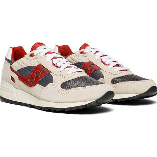 Saucony Shadow 5000 Vintage Off-White, Grey, Red for Men S70404-4