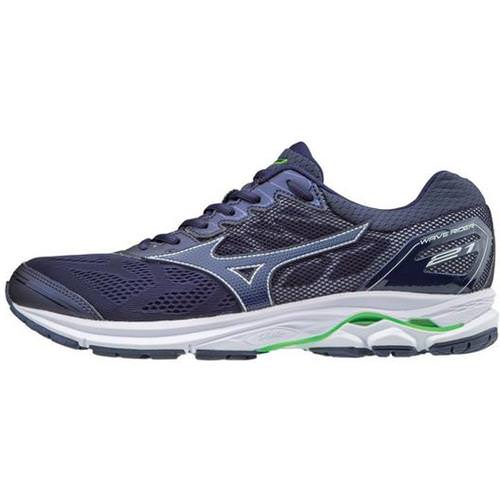 Mizuno Wave Rider 21 Men's Running Eclipse, Eclipse, Green 410972 5A5A