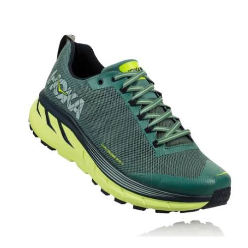 Hoka One One Challenger ATR 4 Men's Trail Silver Pine, Chinos Green 1018294 SPCGR