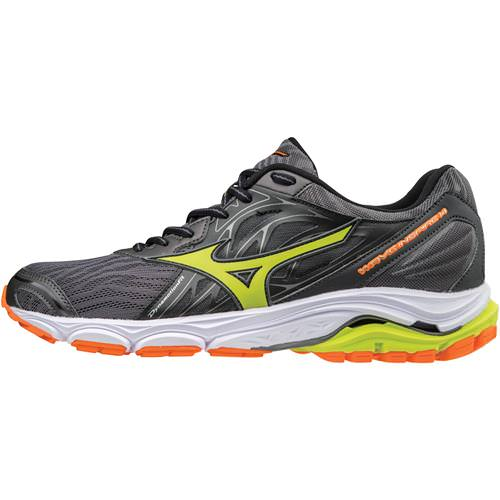 Mizuno Wave Inspire 14 Men's Running Shoes Magnet, Lime Punch 410983.9E4I