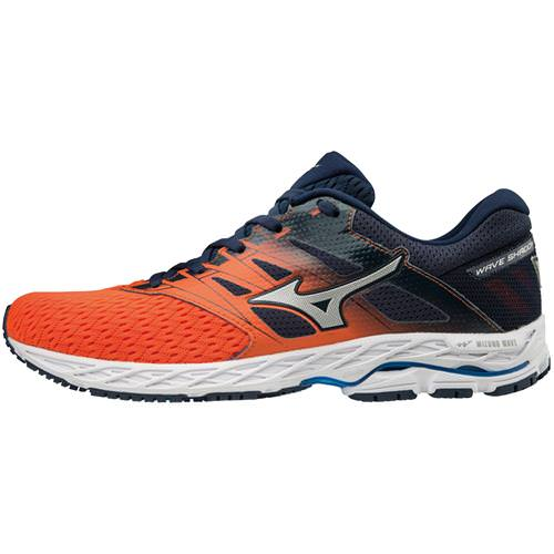 Mizuno Wave Shadow 2 Men's Running Flame, Dress Blue 410999.2G5Q
