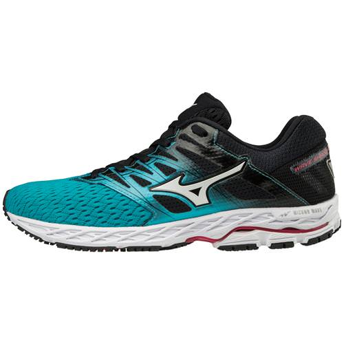 Mizuno Wave Shadow 2 Women's Running Peacock Blue, Teaberry 411000.5C6M