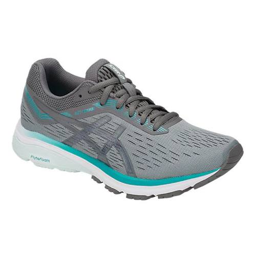Asics GT-1000 7 Women's Running Shoe Wide D Stone Grey, Carbon 1012A029.020