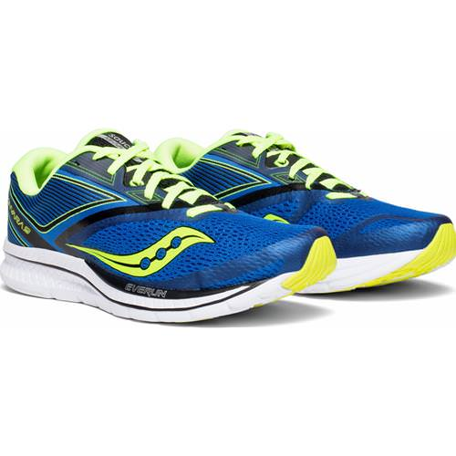 Saucony Kinvara 9 Men's Blue, Black, Citron S20418-4