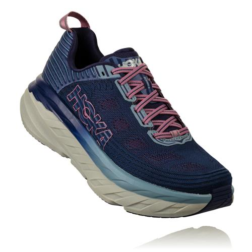 Hoka One One Bondi 6 Women's Marlin, Ribbon Blue 1019270 MBRB