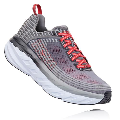 Hoka One One Bondi 6 Men's Wide EE Alloy, Steel Grey 1019271 ASGY