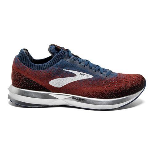 10 D M Chili//Navy//Black Brooks Men/'s Levitate 2 Running Shoe US