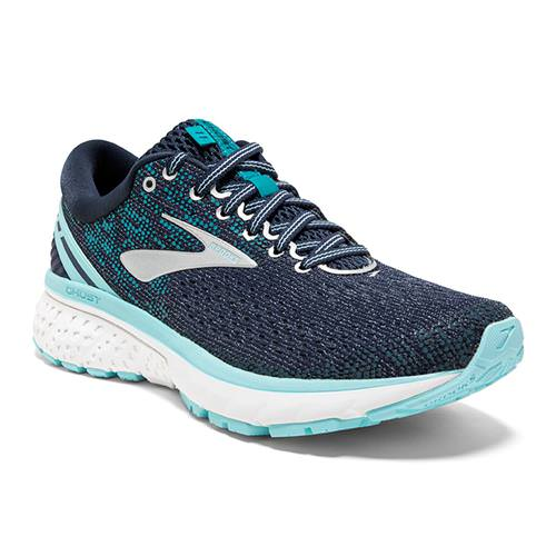 Brooks Ghost 11 Women's Running Wide D Navy, Grey, Blue 1202771D493