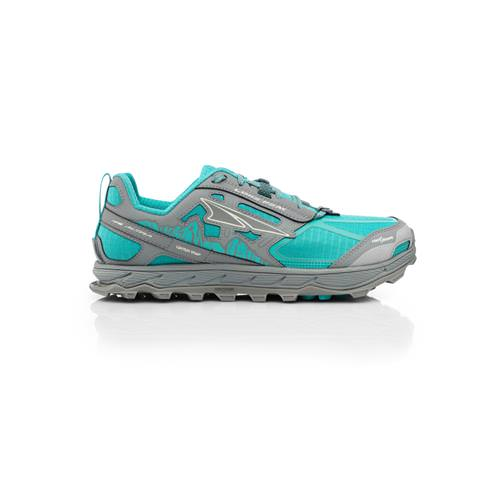 Altra Lone Peak 4 Trail Running Shoe for Women Teal, Grey AFW1855F-31