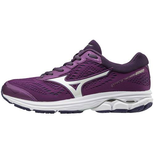 Mizuno Wave Rider 22 Women's Running Bright Violet, Purple Plumeria 410990.7W6Z