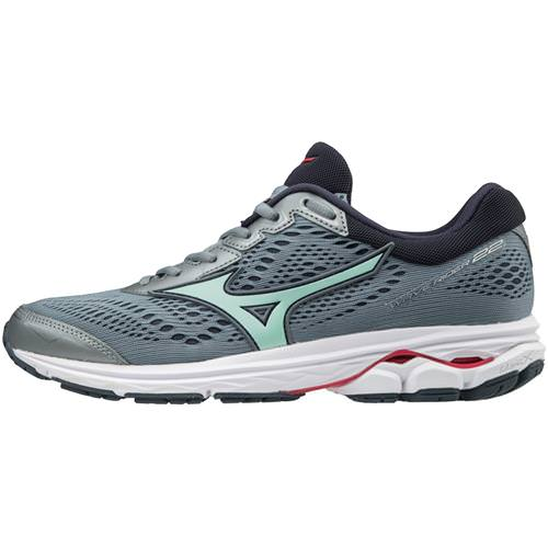 Mizuno Wave Rider 22 Women's Running Tradewinds, Teaberry 410990.9T6M
