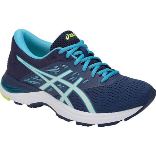 Asics GEL Flux 5 Women's Running Shoe Blue Print, Soothing Sea T861N 400