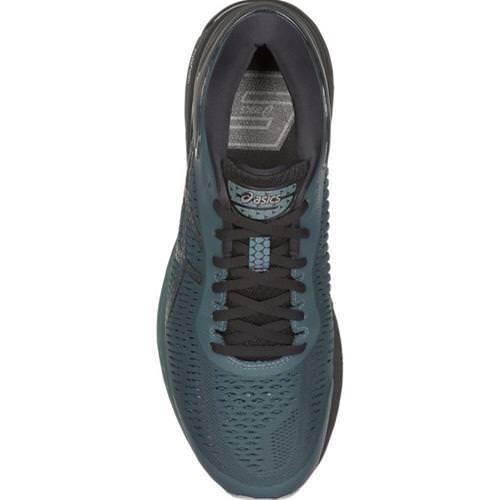 5d630950cd Asics Gel Kayano 25 Men's Running Shoe Iron Clad, Black 1011A019 020