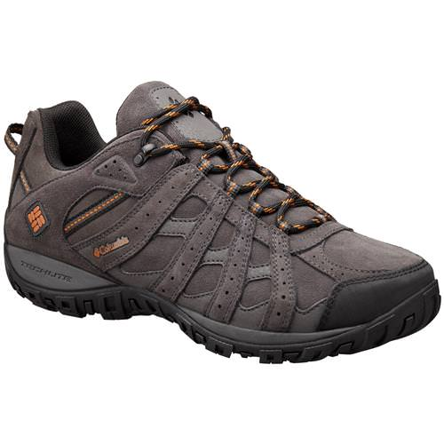 Columbia Redmond Leather Omni-Tech Men's Dark Grey, Bright Copper 1691121 089