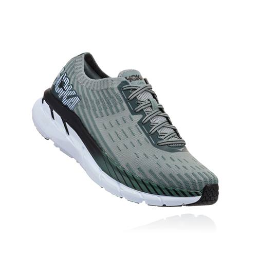 Hoka One One Clifton 5 Knit Men's Silver Pine, Chinois Green 1094309 SPCGN