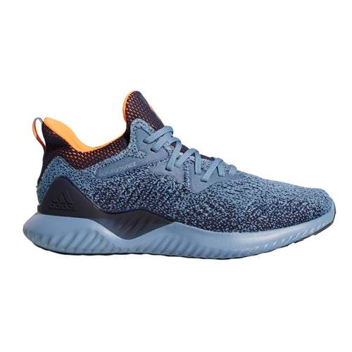 Adidas Alphabounce Beyond Men's Running Shoes Raw Grey, Hi-Res Orange, Legend AQ0574