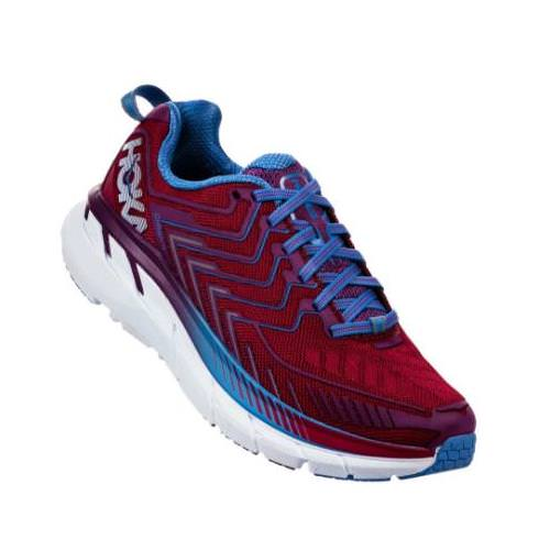 Hoka One One Clifton 4 Women's Cherries Jubilee, Purple Passion 1016724 CJPP