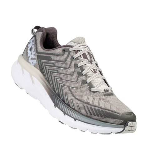 Hoka One One Clifton 4 Men's Wide EE Griffin, Micro Chip 1016779 GMCH