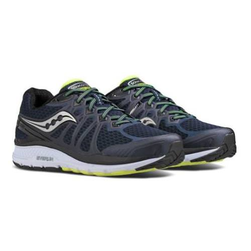 Saucony Echelon 6 Men's Running Wide 4E Navy, Citron S20386-1