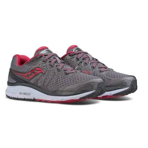 Saucony Echelon 6 Women's Running Wide D Grey, Pink S10385-1