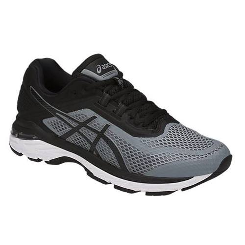 Asics GT-2000™ 6 Men's Wide 2E Running Shoe Stone Grey, Black, White T806N 1190