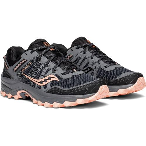 Saucony Excursion TR12 Women's Trail Grey, Peach S10451-2