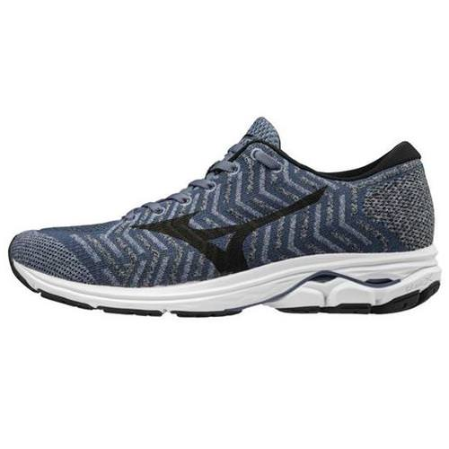 Mizuno WAVEKNIT R2 Men's Running Folkstone Gray, Black 411002.9F90