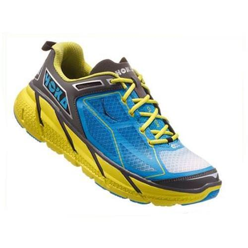 Hoka One One Clifton 1 Men's Citrus, Cyan, Grey 1101943 CCGRY
