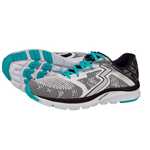 361 Degrees Spinject Women's Running Shoe White, Black Y854-0009