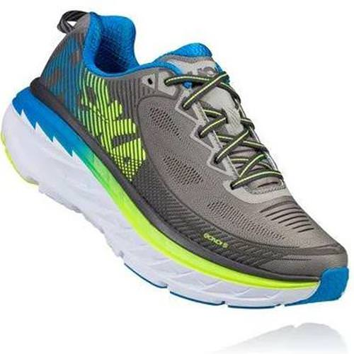 Hoka One One Bondi 5 Men's Griffin, Asphalt 1014757 GASP